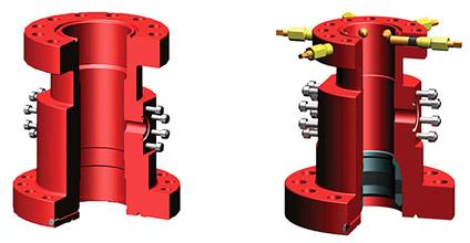 Drilling Spool Structure