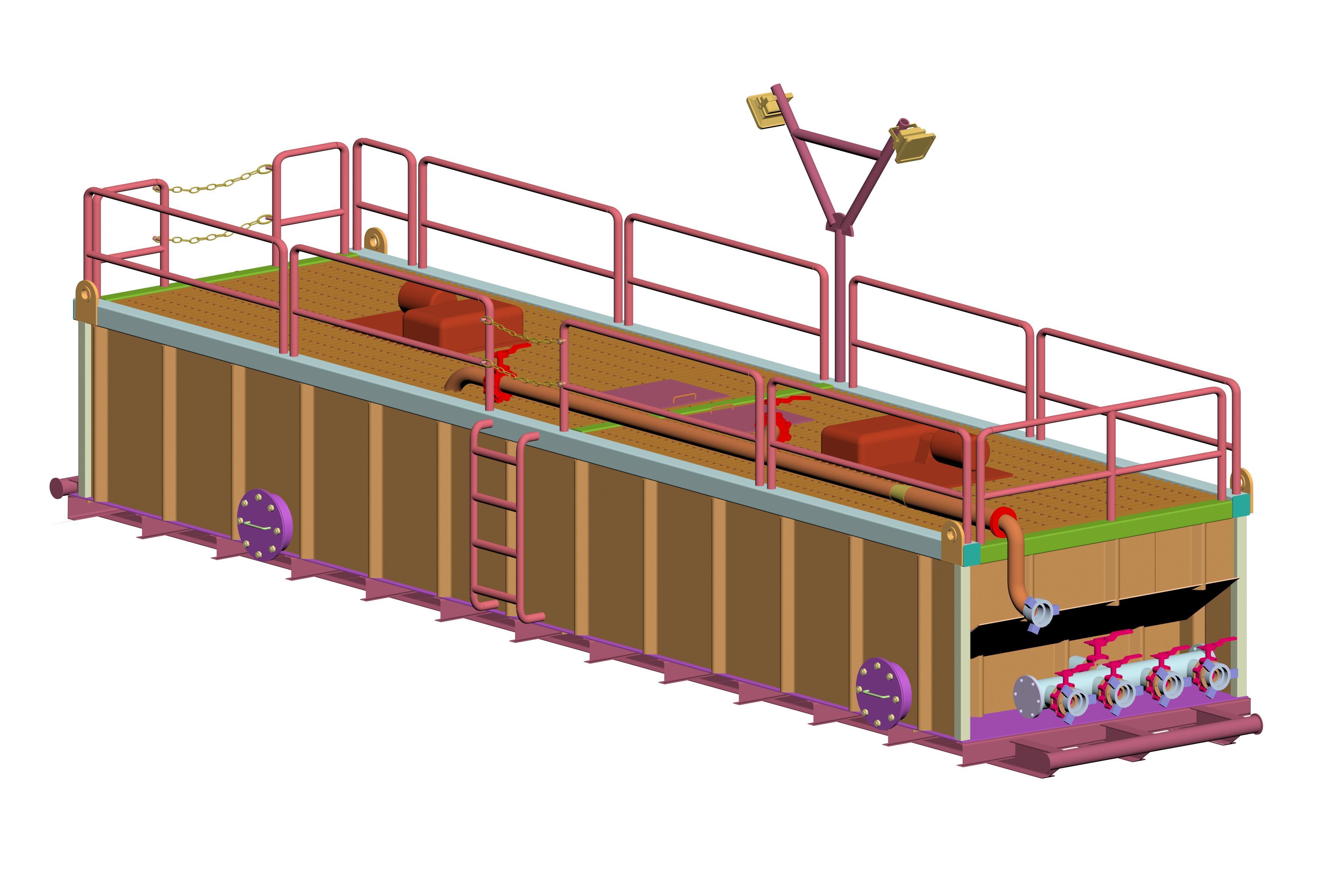 Mud Tank Structure