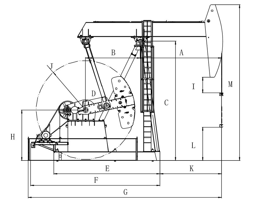 Pumping Unit Drawing